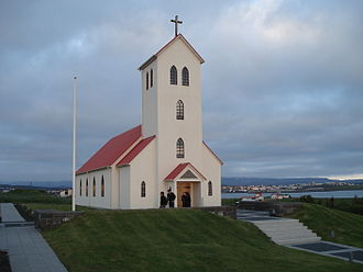 Garðabær - Garðakirkja in Garðabær, Iceland