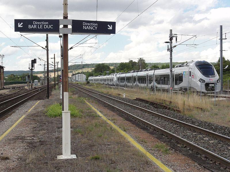 Gare de Nançois - Tronville (Meuse)