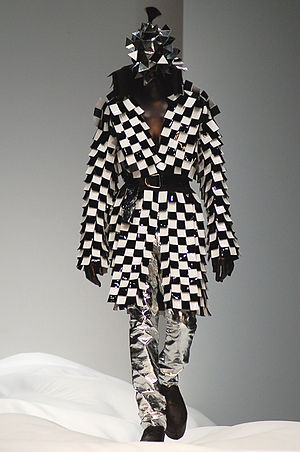 Gareth Pugh design (Spring 2007 collection) at...