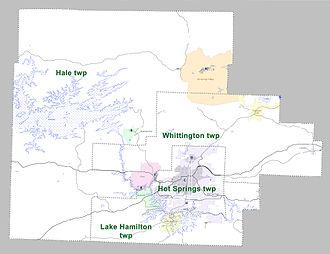 Garland County, Arkansas - Townships in Garland County, Arkansas as of 2010