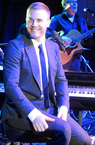 Gary Barlow - Barlow performing in concert in 2013