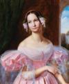 Gaston Camillo Lenthe - Portrait der Prinzessin Helene von Mecklenburg-Schwerin als Braut.png