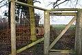 Gate in deer fence - geograph.org.uk - 655969.jpg