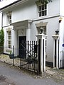 Gate piers, 9 Church Road, Rolleston on Dove.jpg