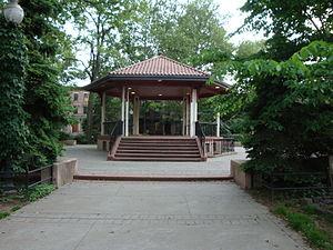 Van Vorst Park - Gazebo in Van Vorst Park