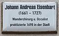 Gedenktafel Markt 18 (Wittenberg) Johann Andreas Eisenbart.jpg