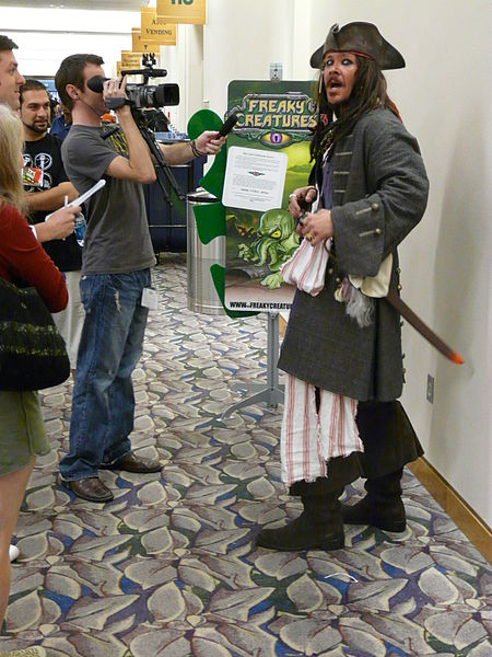 Файл:Gen Con Indy 2008 - Jack Sparrow interview.JPG