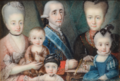 Genaro Boltri - Portrait of a Knight of the Order of Charles III with his family.png