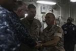 General Malavet, Rear Admiral Ponds visit USS Essex 150323-M-SV584-196.jpg