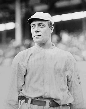 George Burns (outfielder) - Burns in 1913