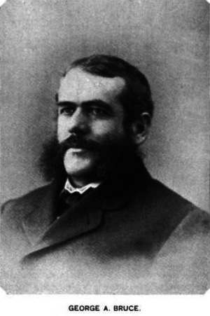 George A. Bruce - Image: George Anson Bruce