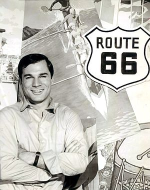 George Maharis - Maharis in the Route 66 publicity photo, 1962