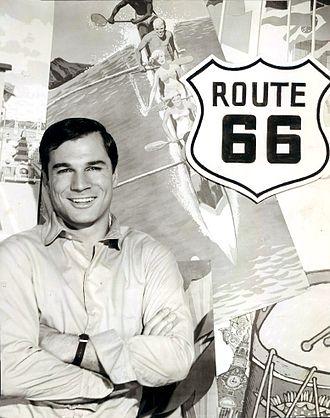 George Maharis - Maharis in the Route 66 publicity photo, 1962