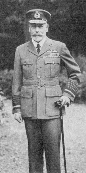 Marshal of the Royal Air Force - King George V in the uniform of a Marshal of the RAF