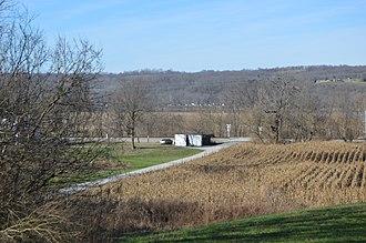 National Register of Historic Places listings in Bracken County, Kentucky - Image: George W. Barkley Farm fields
