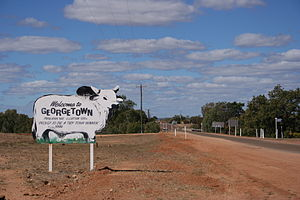 Georgetown, Queensland - Entry into Georgetown