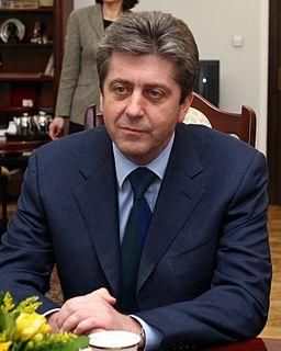 Georgi Parvanov 3rd President of Bulgaria 2002-2012