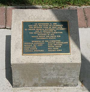 Georgia Southern University - The founding marker at Georgia Southern University