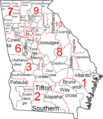 Georgia judicial districts and circuits map.png