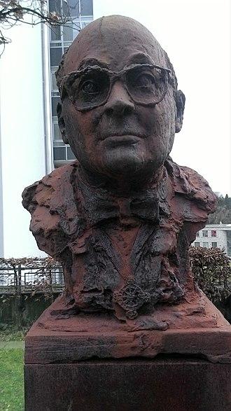 Gerhard Meyer-Schwickerath - Bust of Meyer-Schwickerath