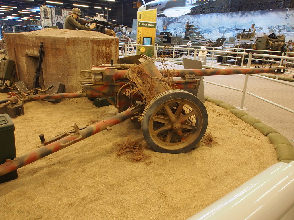 File:German 50mm Anti Tank Gun.JPG