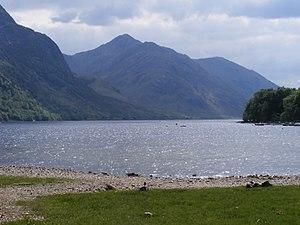 Sgùrr Ghiubhsachain - Sgùrr Ghiubhsachain and Loch Shiel from Glenfinnan