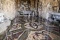 Giardino di castello, grotta degli animali o del diluvio, giochi d'acqua 01.jpg