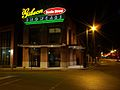 Gibson Beale Street Showcase, Memphis, at night.jpg
