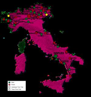 2013 Giro d'Italia - Image: Giro 2013 en