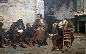 Generation of '80 - Image: Giudici Reynaldo La sopa de los pobres (Venecia)