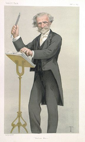 Джузеппе Верди в Vanity Fair, 1879