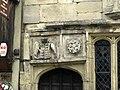 Glastonbury Tribunal stonework detail.JPG