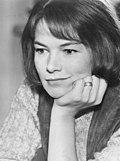 Портрет Гленды Джексон в 1971 году