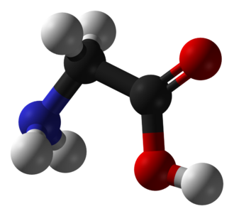 Glycine - Image: Glycine 3D balls