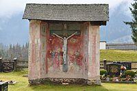 Gnesau Zedlitzdorf Friedhof Kapelle mit Kreuz 23112012 333.jpg