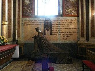 Edmund Dalbor - Cardinal Dalbor's burial monument in Gniezno Cathedral