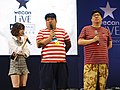 God Tone, Guo Dong and the hostess standing 20190414e.jpg