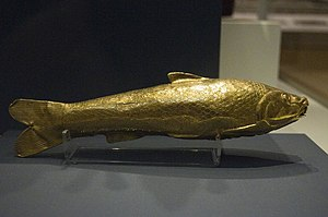 Oxus Treasure - The gold fish vessel