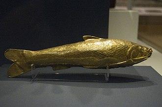 Oxus Treasure - The gold fish vessel