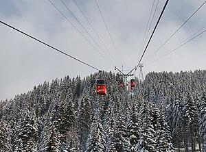 Lenzerheide - Gondola lift system