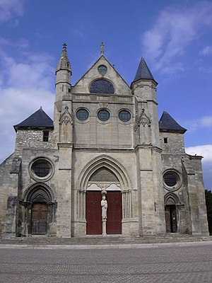 Pays de France - Church of St. Peter and St. Paul in Gonesse