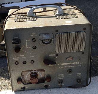 Gonset Communicator - A 2 meter band Communicator II