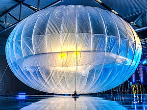 Project Loon - A Project Loon balloon at the Christchurch launch event in June 2013