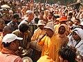 Gopal Krishna Goswami leads kirtan.JPG