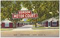 Gordon Motor Court, quiet, comfortable, clean, Sylvester, Ga. (8343885436).jpg