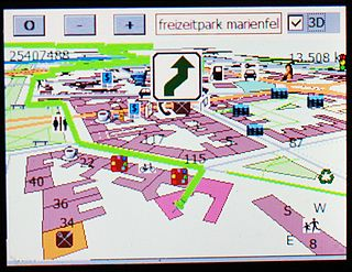 Automotive navigation system satellite navigation system designed for use in automobiles