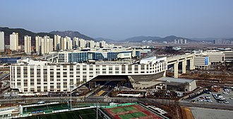 Sejong City - Image: Government Complex Sejong (N)