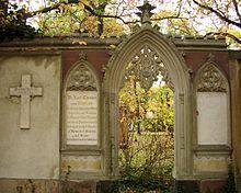 Grabstätte Karl Theodor von Küstner und Angehörige, Alter Johannisfriedhof Leipzig (Quelle: Wikimedia)