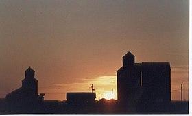 Albertan grain elevators