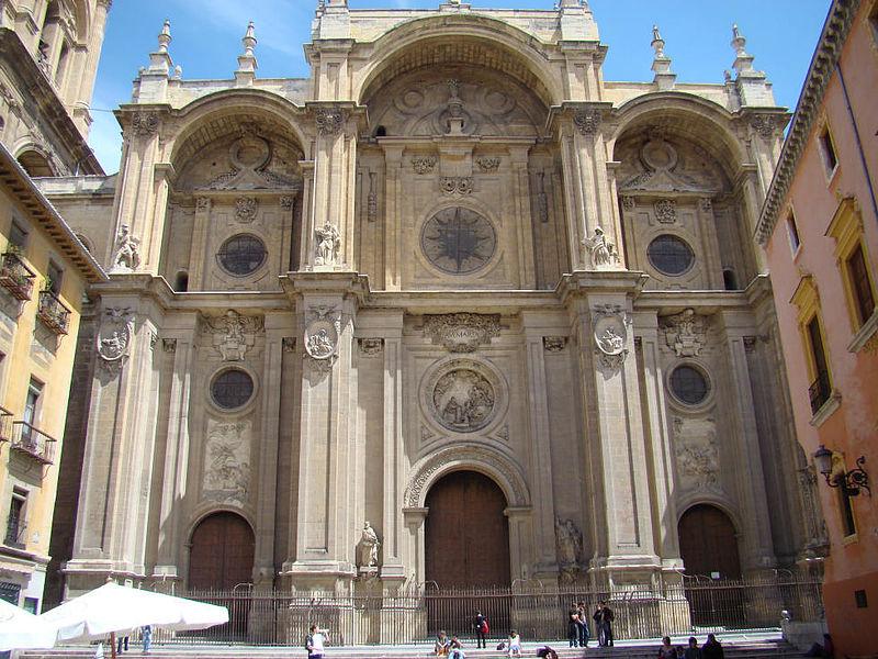 Granada Kathedrale Fassade verkl.jpg